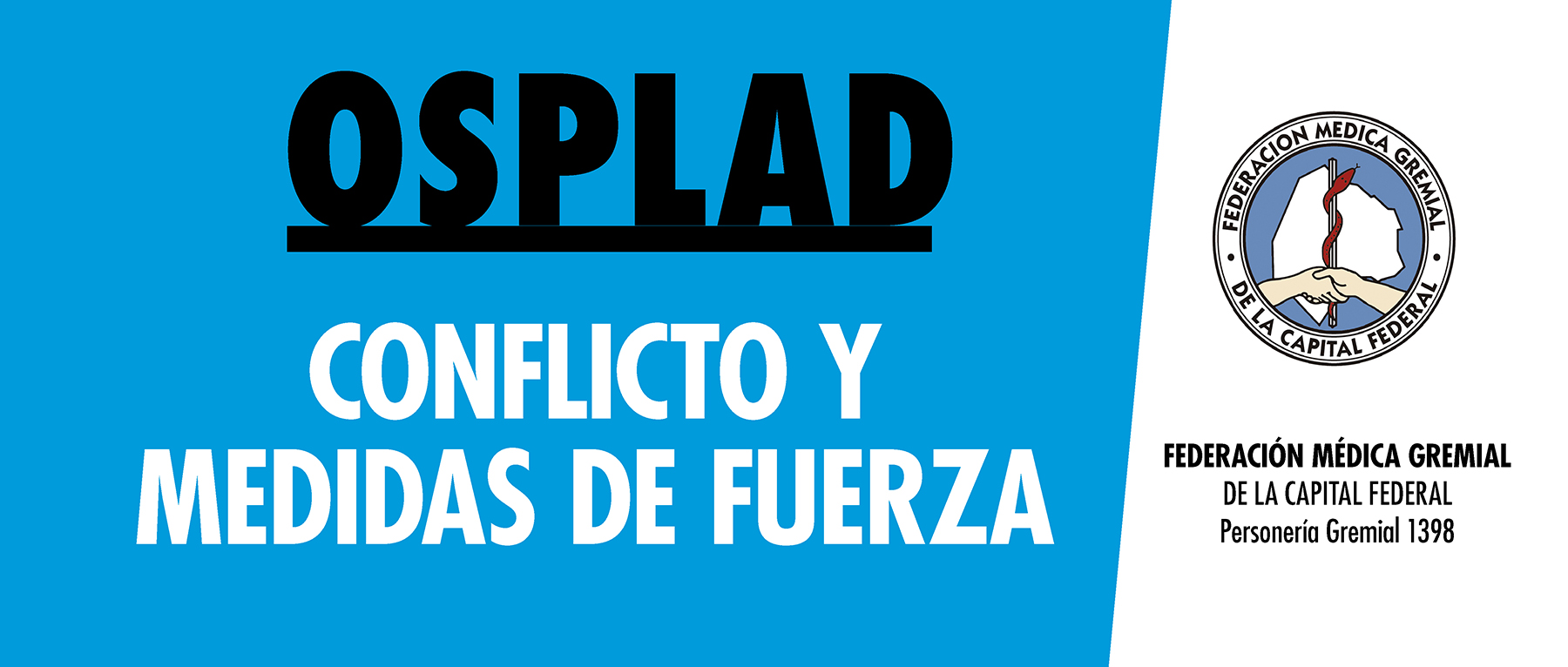 Se agudiza la crisis en OSPLAD. Femeca y AMAP dispusieron medidas gremiales