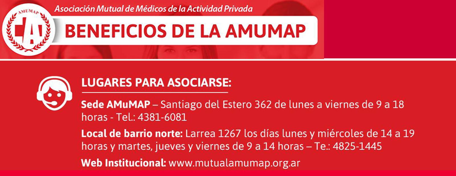 AMUMAP, brinda importantes beneficios a profesionales de la salud