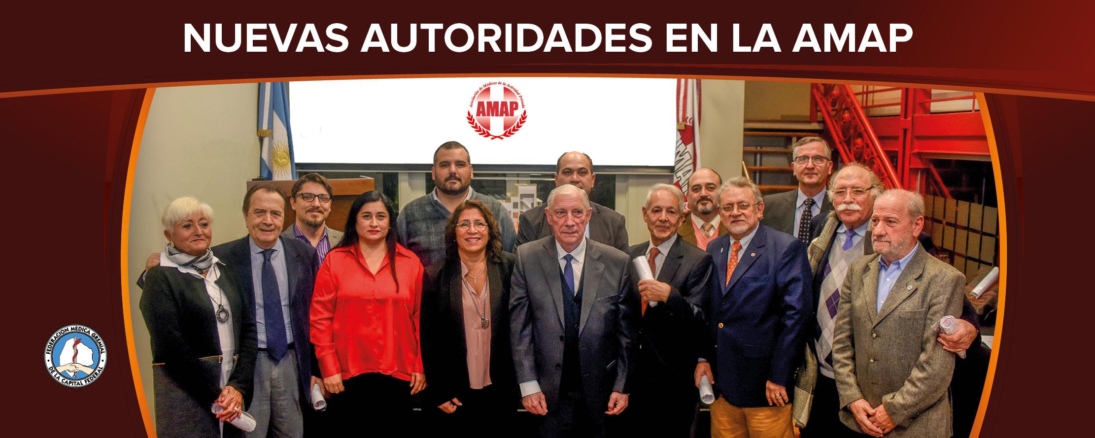 Asumió la nueva Comisión Directiva de la AMAP
