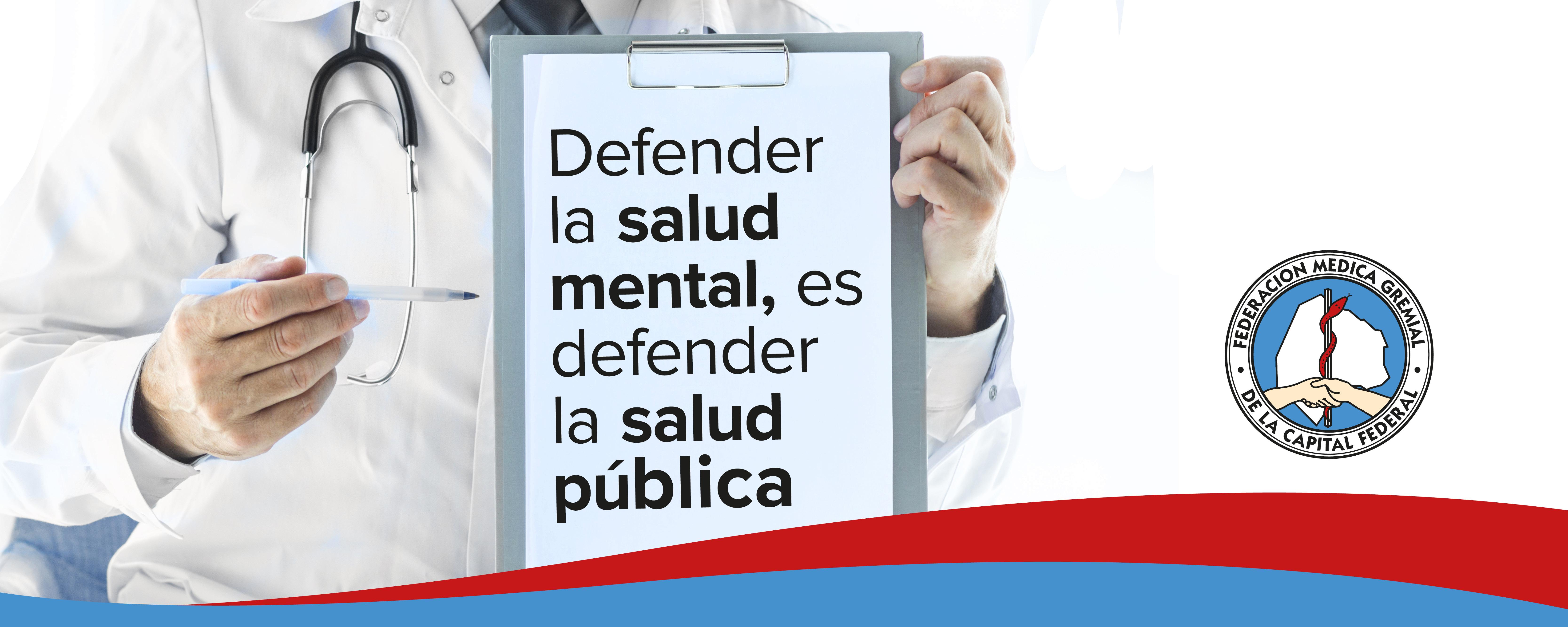 Una resolución ministerial atenta contra los efectores de salud mental